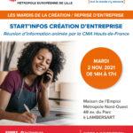 Start'Infos Création d'entreprise avec la CMA Hauts-de-France